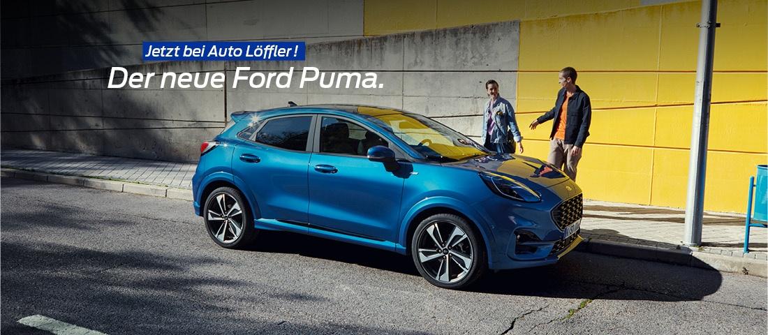 Der neue Ford Puma - Jetzt bei Auto-Löffler