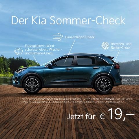 Der Kia Sommer Check