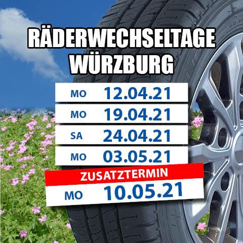 Räderwechseltage Würzburg 2021