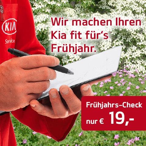 KIA Frühjahrs-Check