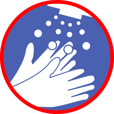 Hände desinfizieren
