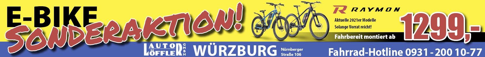 E-Bike Sonderverkauf Löffler Würzburg