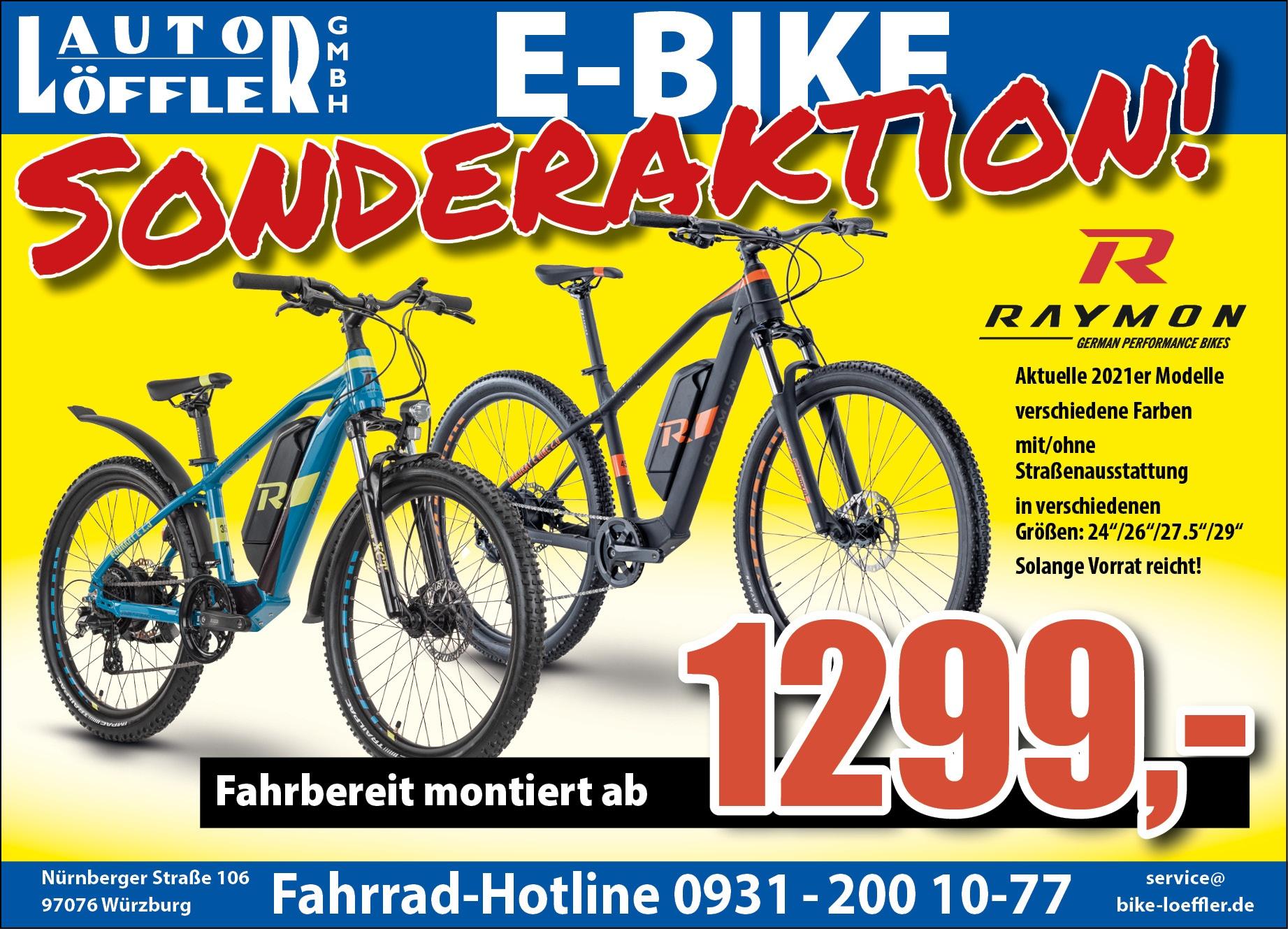 E-Bike Sonderverkauf