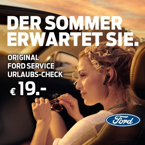 Original Ford Service Urlaubs-Check