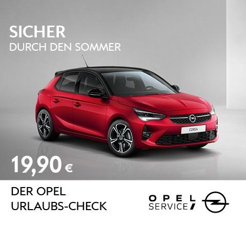 OPEL URLAUBS-CHECK
