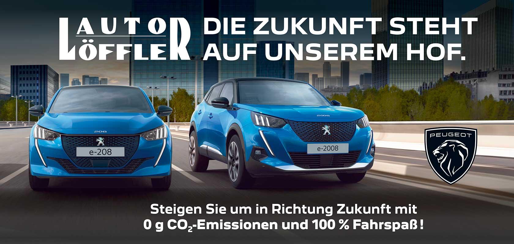 Auto Löffler - Die Zukunft steht auf unserem Hof.